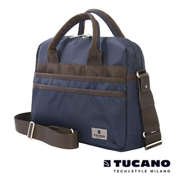 TUCANO Shine 13吋多功能手提肩背二用電腦包- 藍