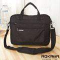 AOKANA奧卡納 11吋輕量防潑水平板電腦側背包 公事包(百搭黑)06-130