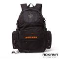 AOKANA奧卡納 台灣釦具 護脊紓壓電腦後背包 可收納籃球(橘標)68-069