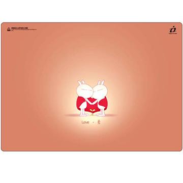i2 兔斯基竹炭滑鼠墊--為了愛