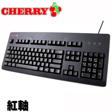 Cherry 原廠機械式鍵盤 G80-3494 (紅軸-中文)