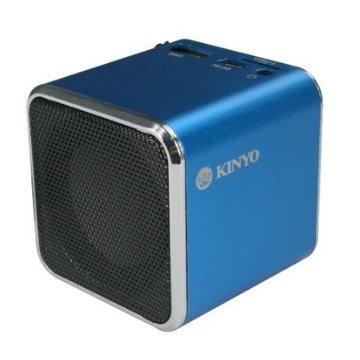 KINYO【音樂大師】音樂盒讀卡喇叭MPS-372