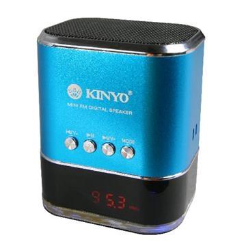 KINYO【音樂大師】 FM讀卡喇叭MPS-377
