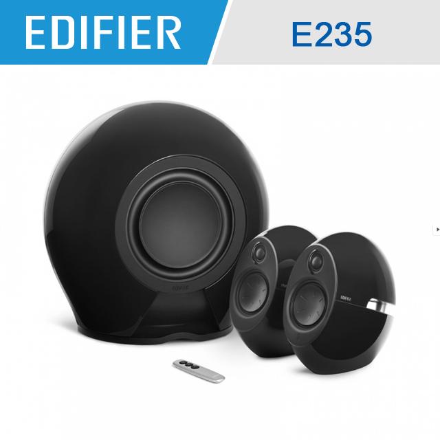 Edifier Luna Eclipse E235 2.1聲道藍牙喇叭(黑)