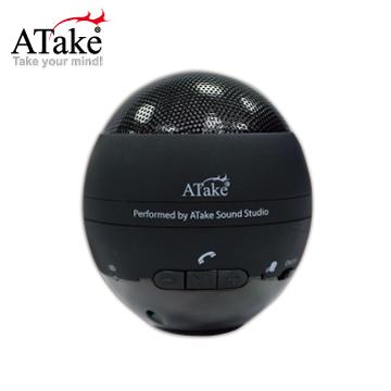 ATake - Tumbler無線藍牙喇叭 - 黑色ASP-698BK
