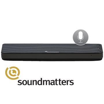 ★新品上市★ soundmatters foxL Dash 7 藍牙喇叭Siri版 經典黑