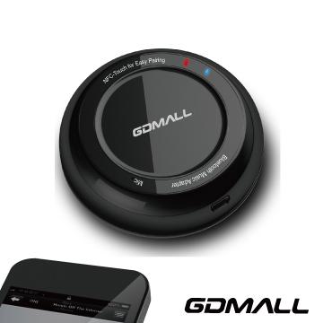 GDMALL Audio NFC 藍芽音樂接收器 黑色