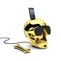 JARRE AeroSkull HD 骷髏造型無線藍牙喇叭 鉻金色