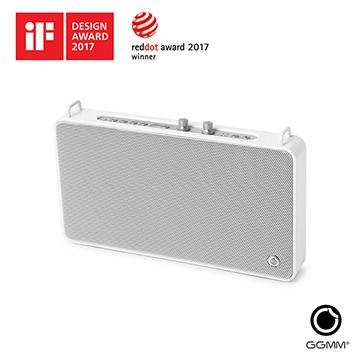 【GGMM】E5 獨立音調調節藍芽無線智能麥克風音響(典雅白)