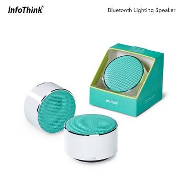 可調式LED燈光效果InfoThink藍牙燈光喇叭