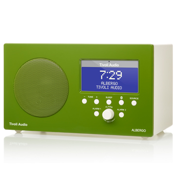 Tivoli Audio ALBERGO AM/FM CLOCK RADIO(綠色)藍牙鬧鐘收音機喇叭