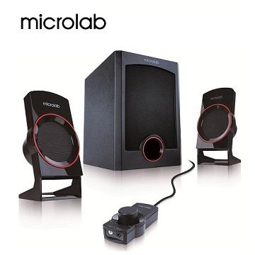 (福利品)【Microlab】M-111 2.1時尚美聲多媒體喇叭