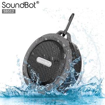 美國聲霸SoundBot SB512 藍芽防水防震喇叭