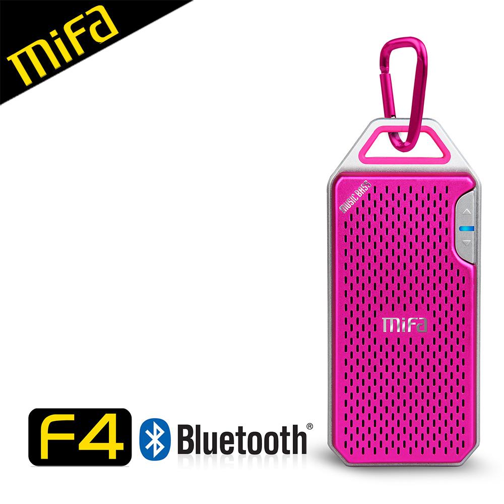MiFa F4 隨身輕巧鋁合金無線藍芽MP3喇叭-鈦粉(福利品)★此福利品為未拆封新品,僅外盒有磨損★