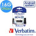Verbatim 威寶 16G OTG Tiny USB3.0 手機平板行動裝備隨身碟