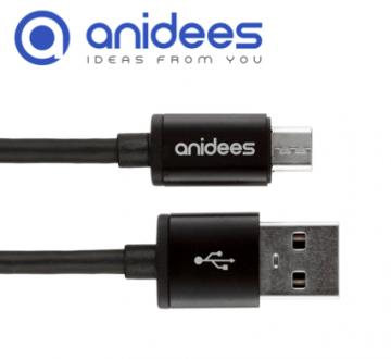 ◤急速充電◢anidees micro USB傳輸/充電線 1.2M