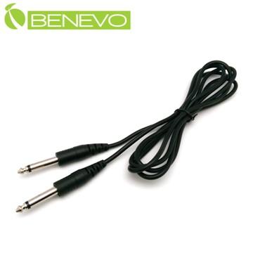 BENEVO 2M 6.35mm單聲道音訊連接線 (BAU02006MM)
