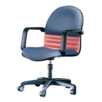 Easy布面中背辦公椅/C-02-1