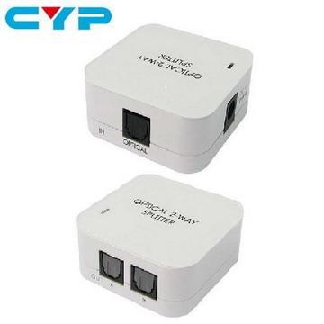 CYP DT-12 2-Port 數位光纖音源分配器