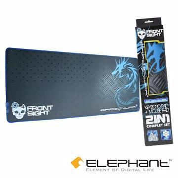ELEPHANT龍戰系列-精準狙擊 2合1鍵鼠墊-控制版(GP-004)