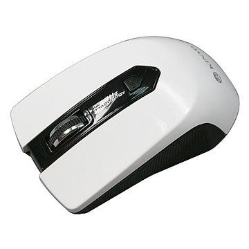 KINYO『白幽靈』2.4G無線光學滑鼠(GKM-786)