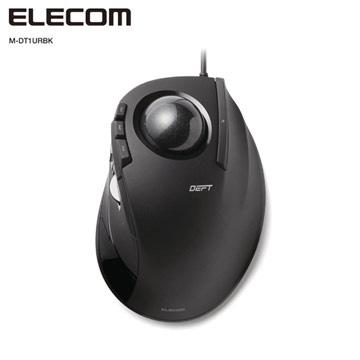 ELECOM有線中指軌跡球滑鼠