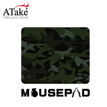 【ATake】迷彩滑鼠墊 SMP-118C 綠色