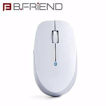 B.FRIEND 藍芽滑鼠 MT-002 銀白色