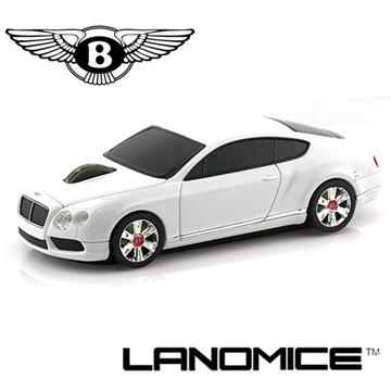 LANDMICE Bentley continental GT賓利 無線滑鼠-白色
