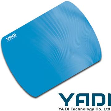 YADI 高係數精準滑鼠墊-藍-環保裝