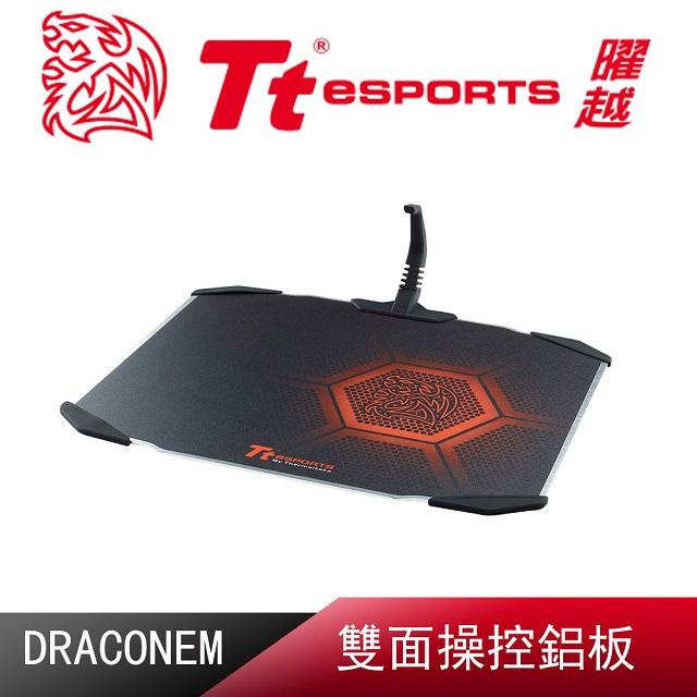 Tt eSPORTS【聖龍鱗DRACONEM2016雙面操控鋁板】電競滑鼠墊