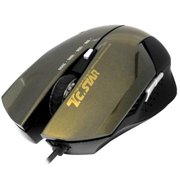 TCSTAR 高精度玩家級電競光學滑鼠 TCN190CG