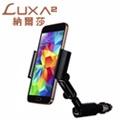 LUXA2 Cigar Clip USB萬能車充手機支架