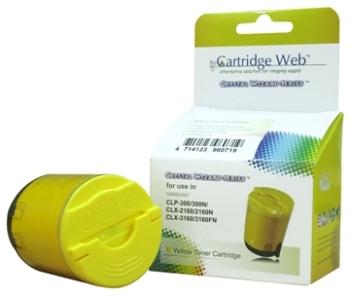★Cartridge Web★ SAMSUNG CLP-Y300A全新黃色相容碳粉匣