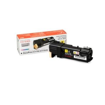 【原廠】Fuji Xerox DocuPrint C1110/1110B 原廠黃色碳粉匣