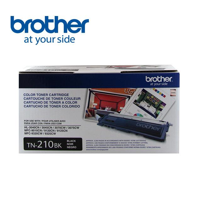 Brother TN-210BK 黑色原廠碳粉匣