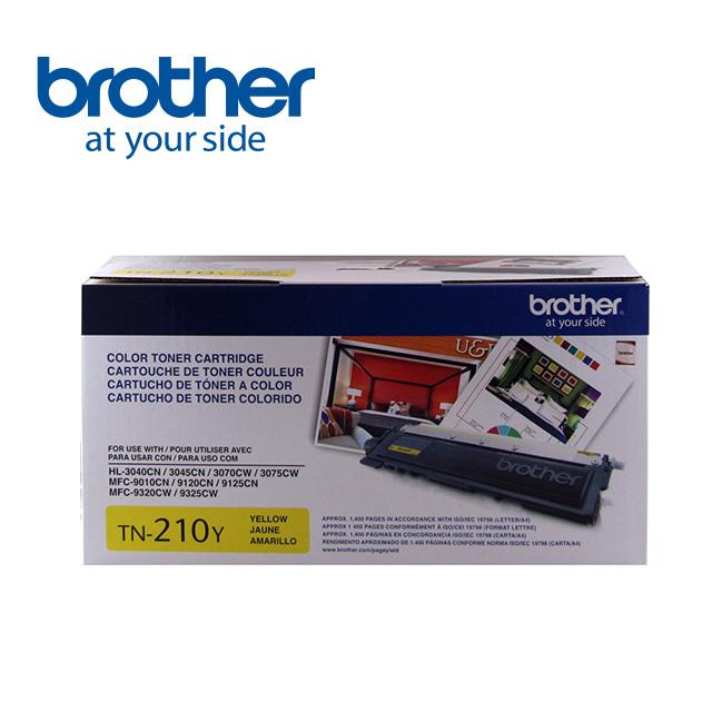 Brother TN-210Y 黃色原廠碳粉匣