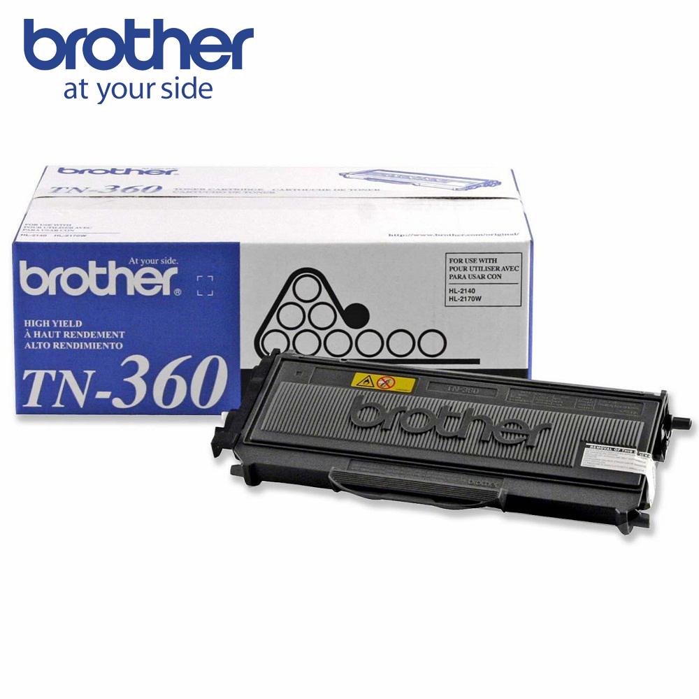 Brother TN-360BK 高容量黑色原廠碳粉匣