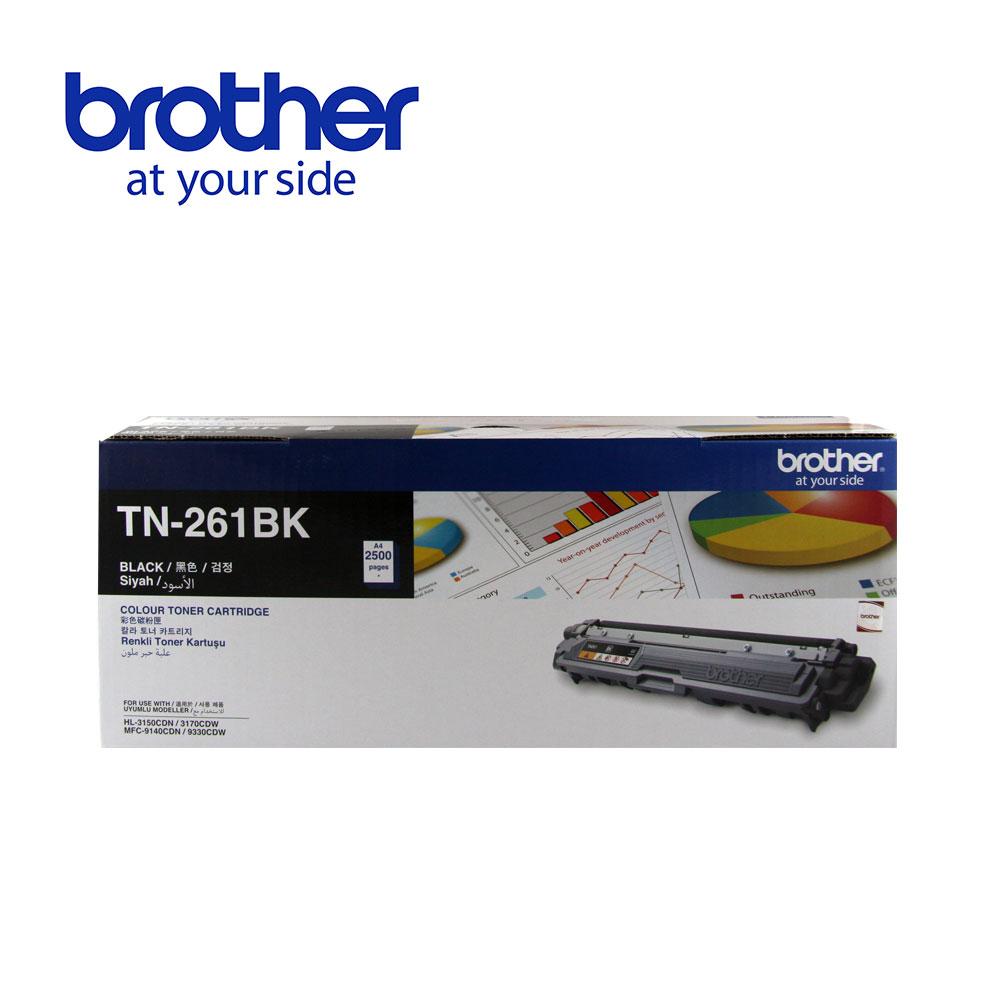 Brother TN-261BK原廠黑色碳粉匣