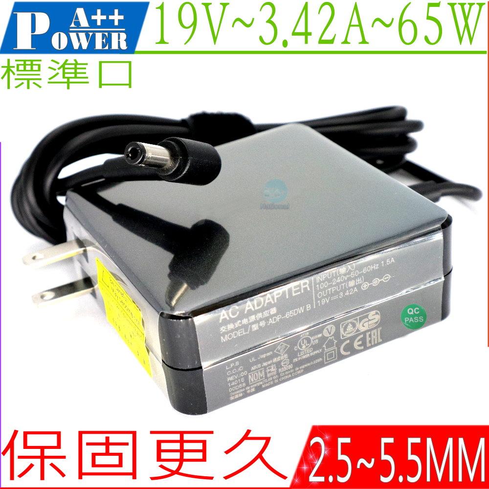 ASUS變壓器 19V,3.42A,65W,X402CA,X502CA,X550CA,X552EA,S550CB,A46,K46,K56,F301A,F401A,F501U