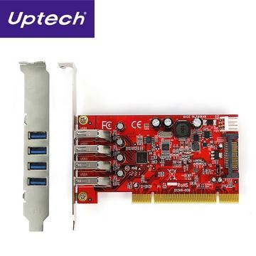 Uptech UT240 USB 3.0 4-Port PCI擴充卡