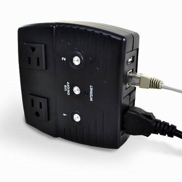 遠端網路電力控制器(UIS-522b)可排程/遠端控管/定時開關/按鍵重置