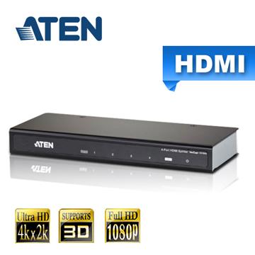 ATEN 4埠 HDMI 影音分配器 4K2K (VS184A)