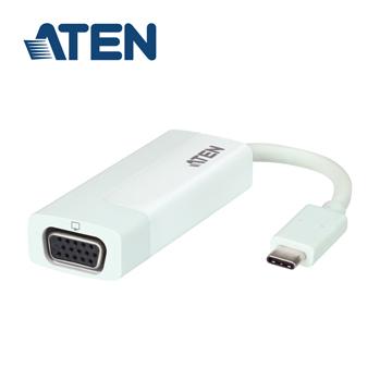 ATEN USB-C 轉 VGA 轉換器 (UC3002)