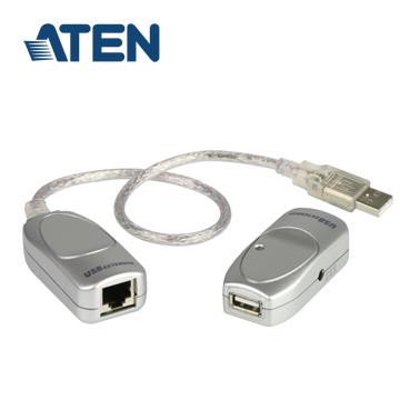 ATEN USB Cat 5延長器 - 60公尺 (UCE60)