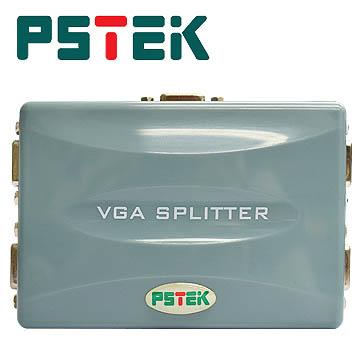 PSTEK 4埠 電腦螢幕分配器 (VPS-104E)