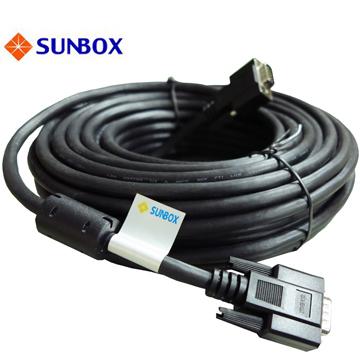 SUNBOX  30米VGA線 支援1920*1080p (Full HD) 高解晰度