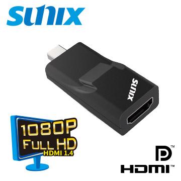 影音同步★隨身攜帶SUNIX 迷你DisplayPort to HDMI 轉換器 (D2H23N0)