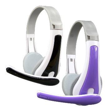 KINYO玩色立體聲耳機麥克風EM3630