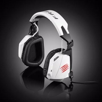 Mad Catz 美加獅 F.R.E.Q. 3  電競耳機-白色